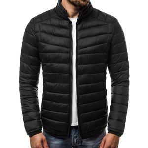 27cb9dda35c5 Pánská černá módní bunda OZONEE JS HS02 (47 kousků) - Moda2.cz