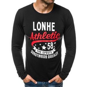 685d42c2f27 Pánské černé tričko s dlouhým rukávem (54 kousků) - Moda2.cz