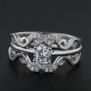 Stříbrný prsten 49574 obraz