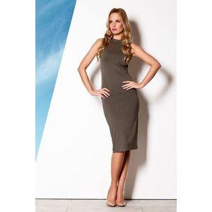 f59ef2bc9329 Dámské šaty M263 olive (33 kousků) - Moda2.cz