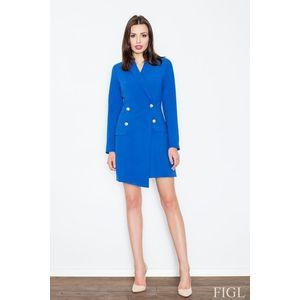 Dámský kabát M447 blue obraz