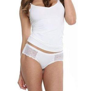 Dámské kalhotky Julimex Angel L Bílá obraz