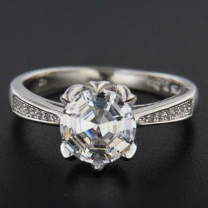 Stříbrný prsten 51633 obraz