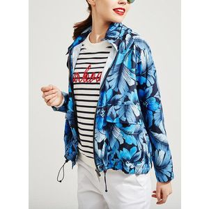 Pepe Jeans dámská šusťáková bunda Miranda s kapucí obraz
