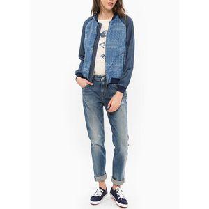 Pepe Jeans dámská tenká bundička Willow se vzorem obraz