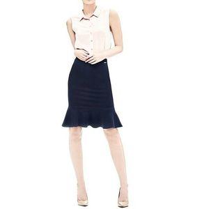 Guess dámská tmavě modrá sukně obraz