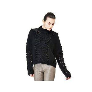Guess dámský černý svetr obraz