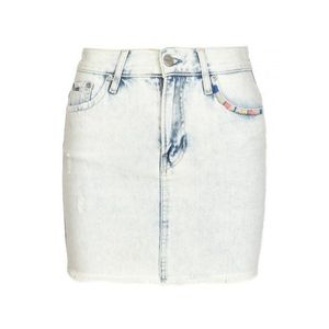 Pepe Jeans dámská džínová mini sukně Bonbon obraz