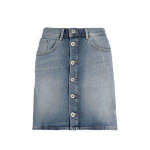 Pepe Jeans dámská propínací džínová sukně Tate obraz