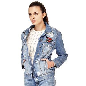 Guess dámská džínová bunda Ellie obraz