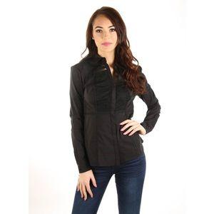 Guess dámská černá košile s krajkou obraz