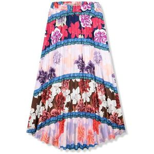Květinová maxi sukně I. obraz
