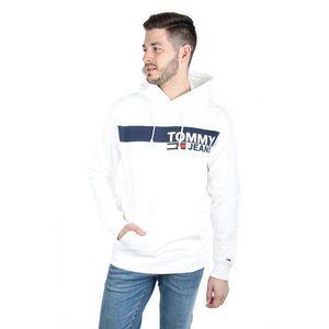 Tommy Hilfiger pánská bílá mikina Essential obraz