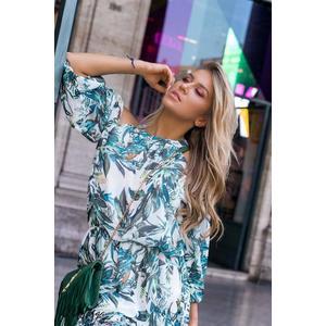 9bbd66105404 Modré květinové šaty (59 kousků) - Moda2.cz