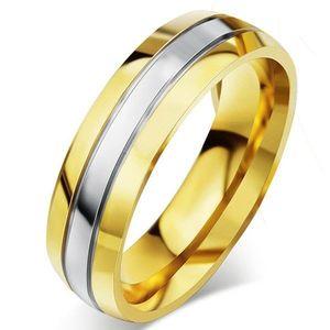 Pánský Prsten Fidelity-Zlatá/49mm KP4933 obraz
