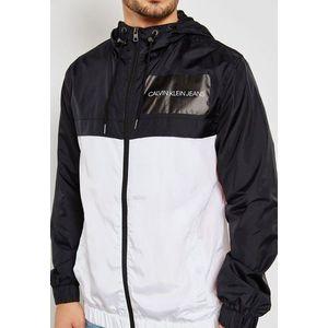 Calvin Klein pánská šusťáková bunda s kapucí obraz