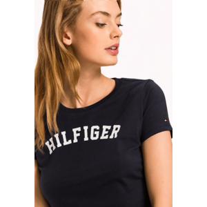 Tommy Hilfiger Tričko - Modré Velikost: XS obraz