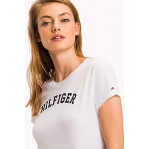 NEW! Tommy Hilfiger Tričko - Bílé Velikost: XS obraz