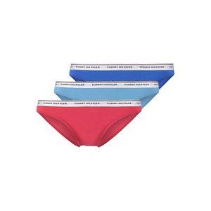 Tommy Hilfiger Iconic Cotton Bikini 3-balení - modrá, tyrkysová, červená Velikost: XS obraz