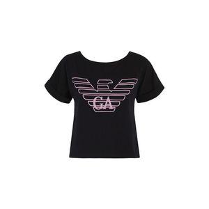 Emporio Armani Underwear Emporio Armani Cropped Top - černá Velikost: M obraz