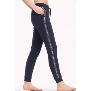 Tommy Hilfiger side logo tepláky - modré Velikost produktu: S obraz