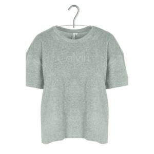 Calvin Klein terry tričko - šedé Velikost: XS obraz