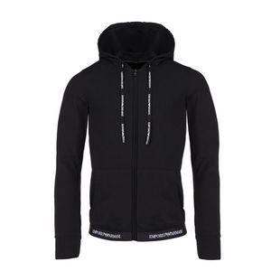 Emporio Armani Underwear Emporio Armani logotape Mikina dámská- black Velikost: XS obraz