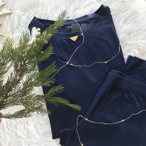 Emporio Armani Underwear Luxusní souprava Emporio Armani viscose dreaming - deep ocean Velikost: XS obraz