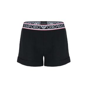 Emporio Armani Underwear Emporio Armani Sporty cotton šortky - černé Velikost: XS obraz