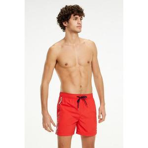 Tommy Hilfiger plavky logo Tommy - Tomato Velikost: L obraz