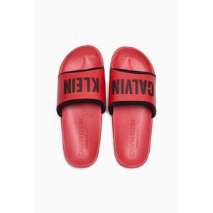 Calvin Klein pantofle - červená Velikost: 39/40 obraz