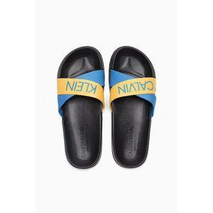 Calvin Klein pantofle - maldive blue/ mari gold Velikost: 39/40 obraz