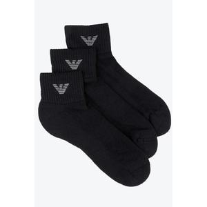 Emporio Armani Underwear Emporio Armani Pánské Ponožky 3-balení - černé Velikost: L obraz