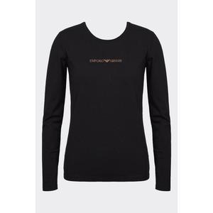 Emporio Armani Underwear Emporio Armani Visibility cotton tričko dlouhý rukáv - černé Velikost: L obraz