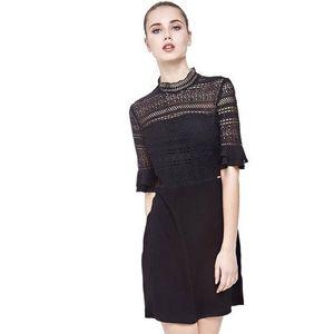 Guess dámské černé šaty s krajkou obraz