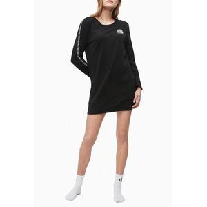 Calvin Klein dlouhé tričko 1981 Bold - černé Velikost: S obraz