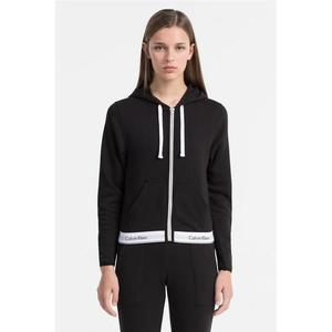 Calvin Klein Modern Cotton Mikina na zip - černá Velikost: S obraz