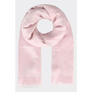 Tommy Hilfiger Monogram šátek - světle růžový Velikost: OS obraz