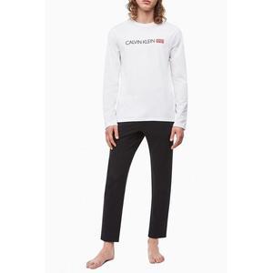 Calvin Klein pánské tričko 1981 bold - bílé Velikost: XL obraz
