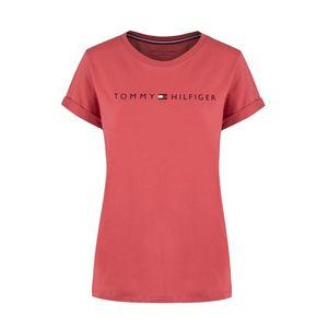 Tommy Hilfiger Tommy Original logo tričko dámské - červené Velikost: L obraz