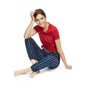 Emporio Armani Underwear Emporio Armani Holy Cotton dámské tričko - červené Velikost: L obraz