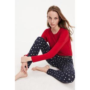 Dárkové balení Tommy Hilfiger pyžamový set dámský - červená, modrá Velikost: L obraz