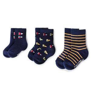 Sada 3 párů dětských vysokých ponožek Mayoral obraz