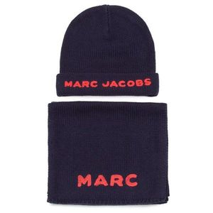 Sada čepice a šál Little Marc Jacobs obraz