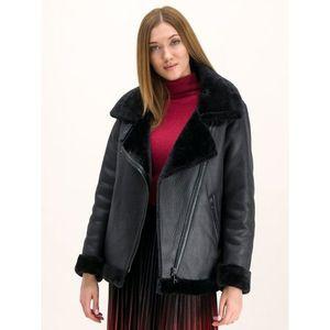 Kožená bunda DKNY obraz