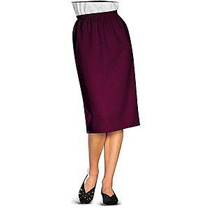 Klasická sukně švestková 40 obraz