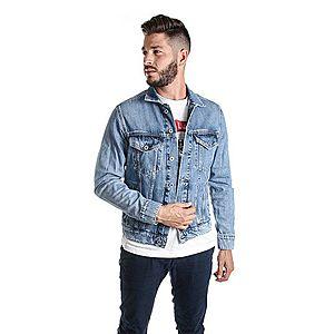 Pepe Jeans pánská modrá džínová bunda obraz