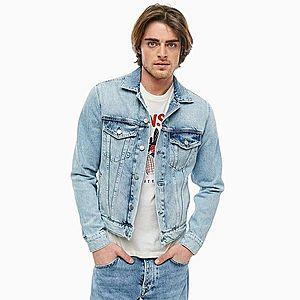 Pepe Jeans pánská světle modrá džínová bunda obraz