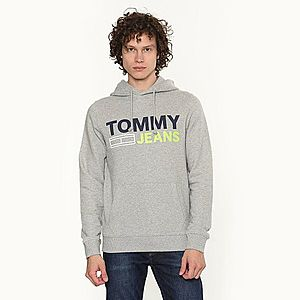 Tommy Hilfiger pánská šedá mikina Logo obraz