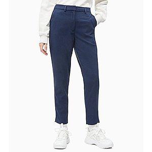 Calvin Klein Kalhoty Modrá obraz